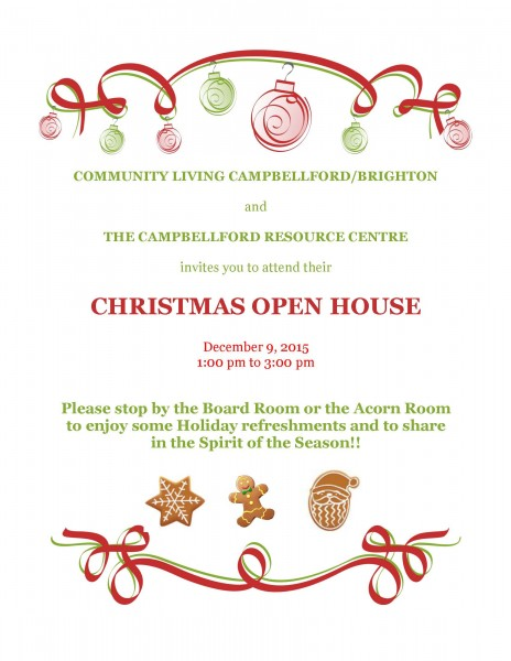 2015 Christmas Open House