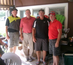 (left to right):  Shawn Lumley, Bart Crashley, Kevin Clarke, Kevin Doughty