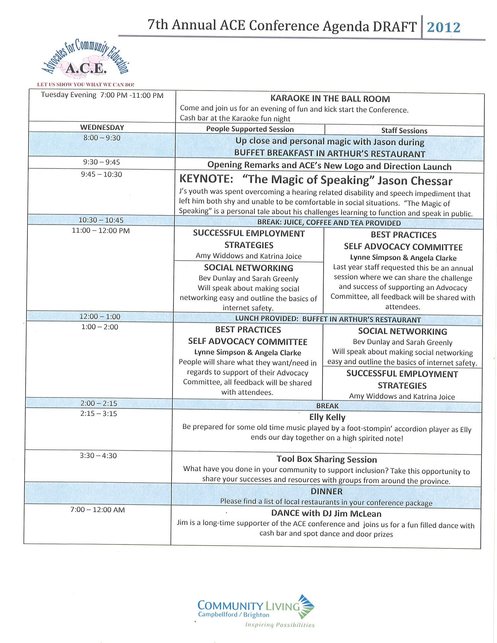 Doc638903 Draft Meeting Agenda Draft Agenda for the next INTA – Conference Agenda Sample