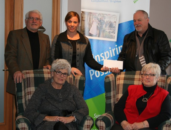 Cheque Presentation Feb 28, 2014