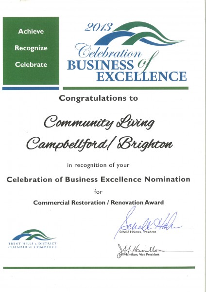 Commercial Restoration and Renovation Award