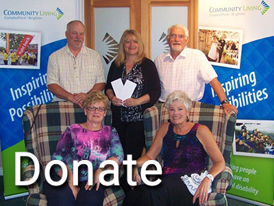 Make a Difference - Donate to Community Living