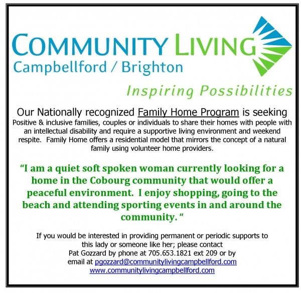 Looking for Family Home Providers and Respite Providers.
