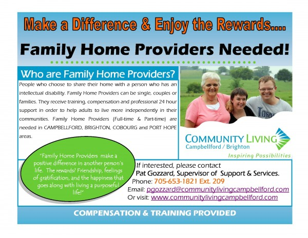 Family Home Flyer