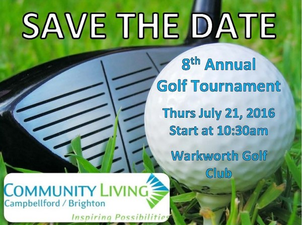 Golf Save the Date 2016