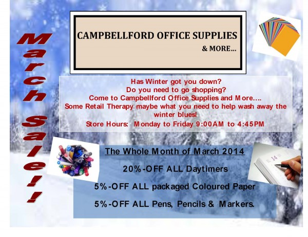 Campbellford Office Supply Store & More