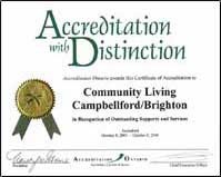 Accreditation with Distinction